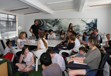 LAVA WELCOMED 20 STUDENTS FROM THE UTS SUMMER SCHOOL