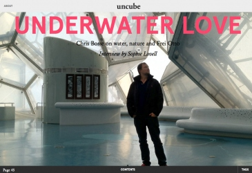 BOSSE ON WATER, NATURE + FREI OTTO - UNCUBE INTERVIEW