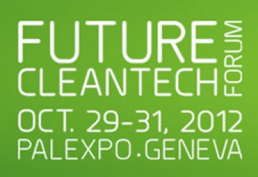 Rieck speaks at Future Cleantech Forum