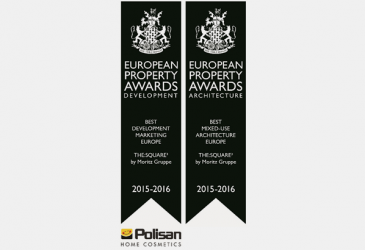 SQUARE3 WINS 2 EUROPEAN PROPERTY AWARDS